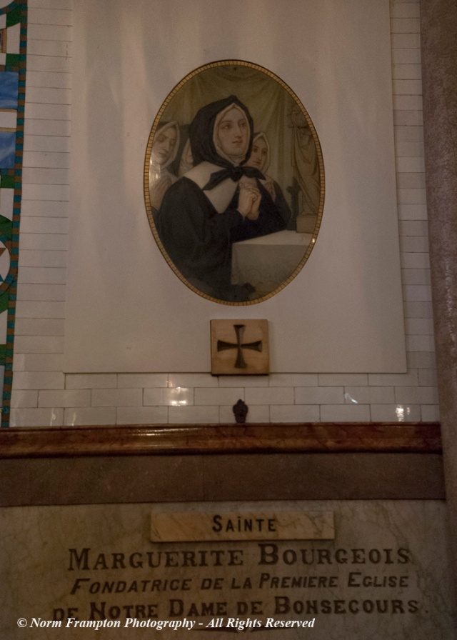 Founder of the original Chapel: Marguerite Bourgeoys